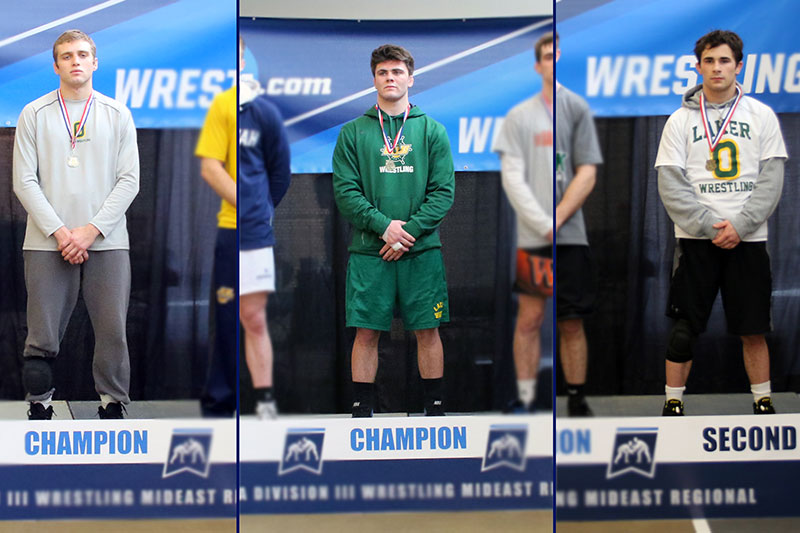 3 wrestlers qualified for NCAA championships