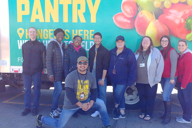 Campus partners with CNY Food Bank