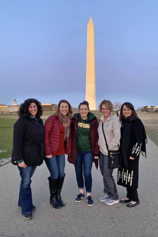 Five faculty and staff from the First Year Experience Advisory Council (FYEAC) attended the First Year Experience National Conference from Feb. 21 to 23 in Washington, D.C.