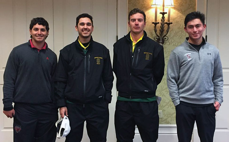 Laker golfers honored
