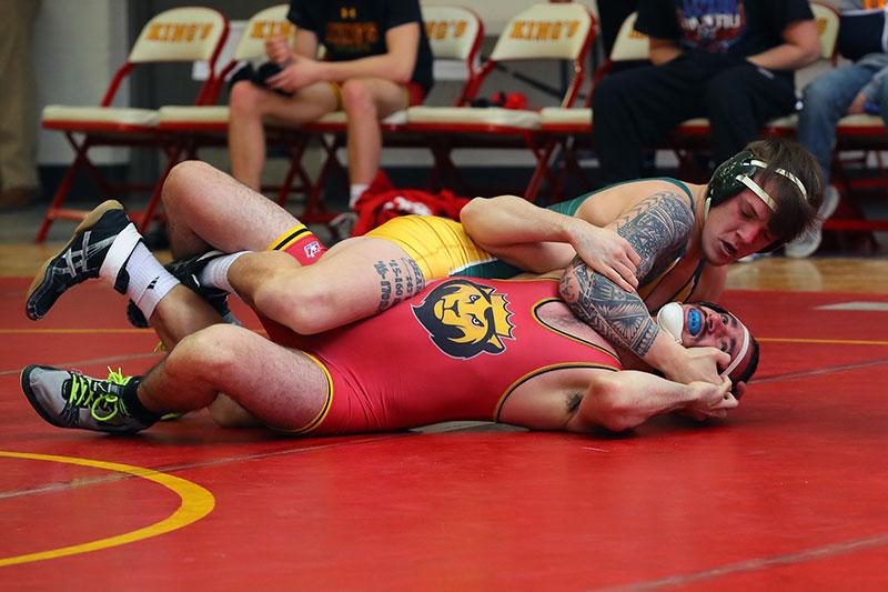 Alex Herringshaw having a strong season for wrestling