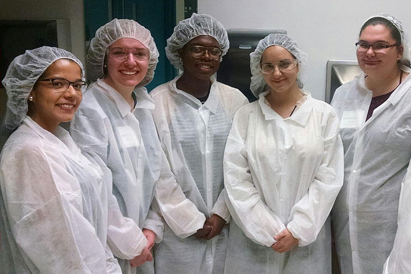 Students tour Bausch & Lomb