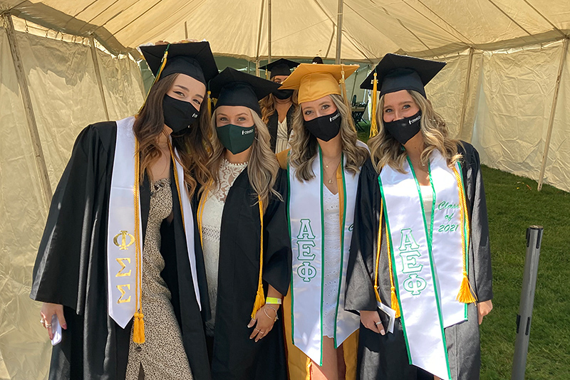 Seven of the ceremonies -- unfolding on Saturday and Sunday, May 15 and 16, welcomed undergraduates and allowed friends to share their special day.