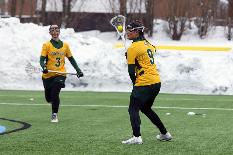 Toni Laneve had a big women's lacrosse game in win over Morrisville