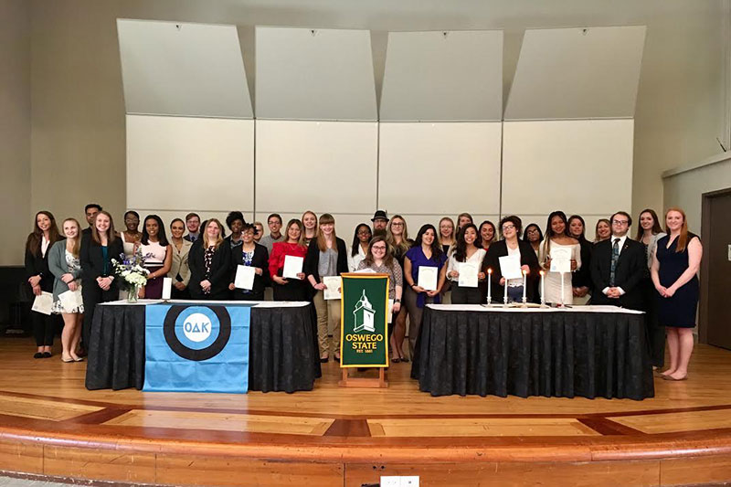 Omicron Delta Kappa inducts 37 new members