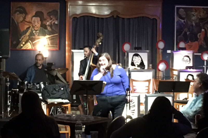 Alumni sit in with Oswego Jazz Project
