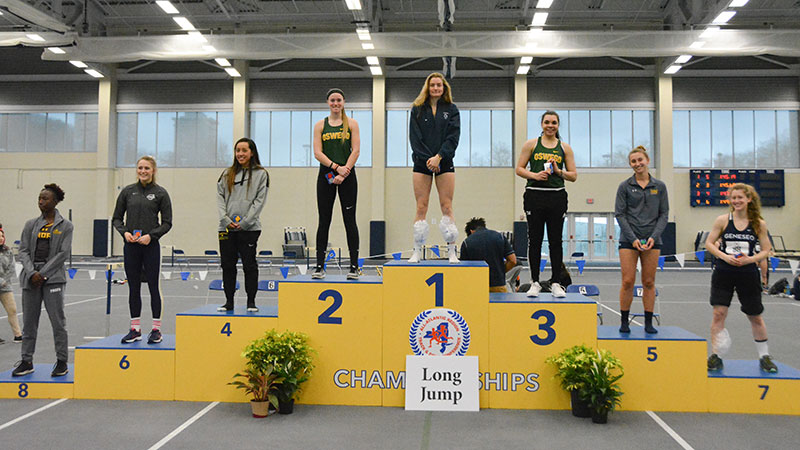Laker women's long jumpers excel