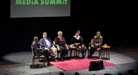 Experts discuss trust and the media during Lewis B. O'Donnell Media Summit