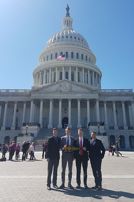 Oswego students on Capitol Hill