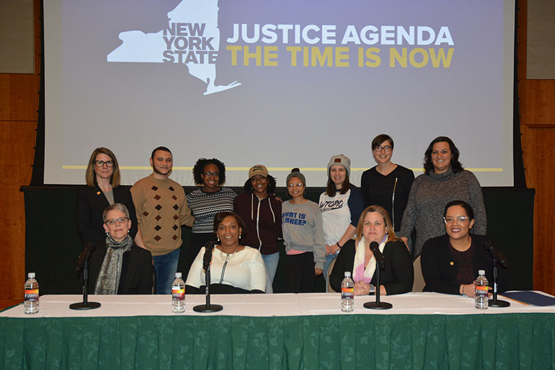 Presenters for New York State Council on Women and Girls event