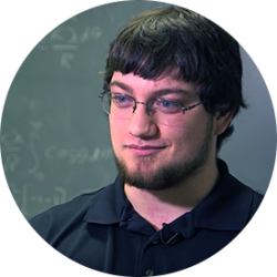 Kenny Roffo, physics student