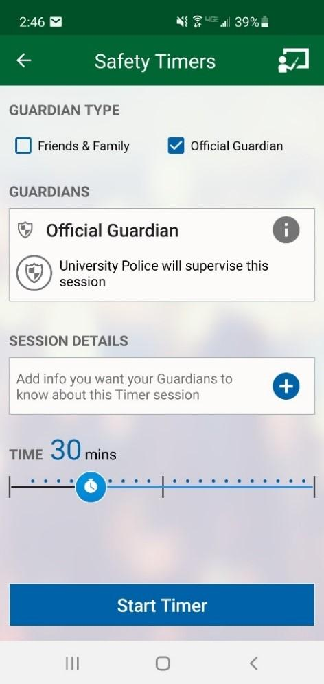 Rave Guardian Info