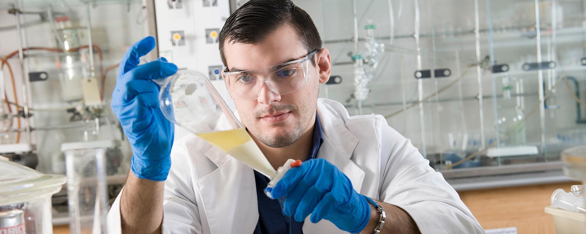 Biochemistry student