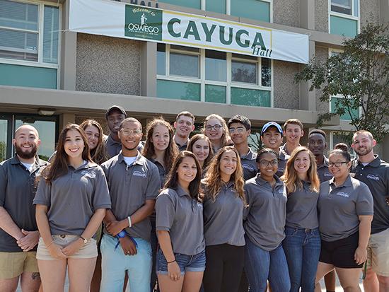 We are Cayuga hall staff.