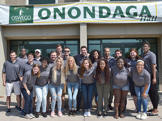 We are the Onondaga Hall staff.