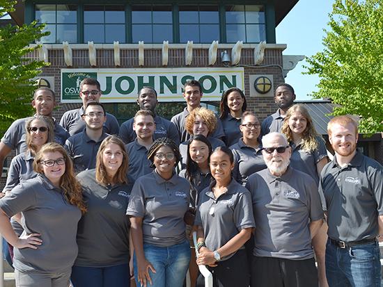 We are Johnson Hall Staff.