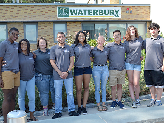 We are Waterbury Hall staff.