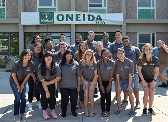 We are Oneida Hall Staff.