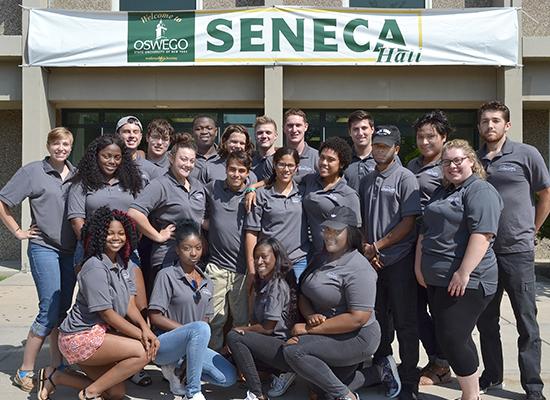 Welcome! We are Seneca Hall staff.
