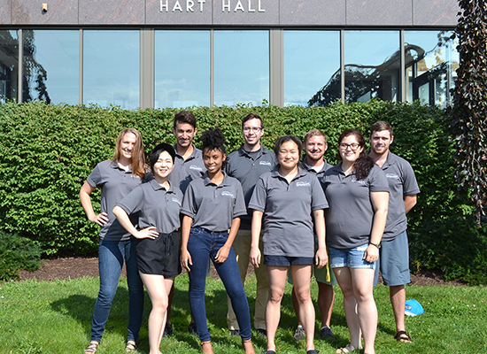 Welcome, we are Hart Hall staff!