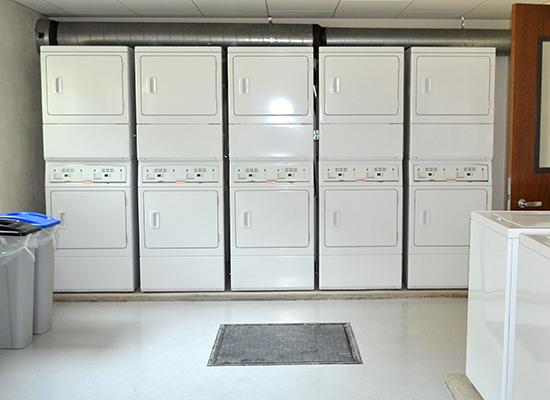 Scales Hall laundry facility
