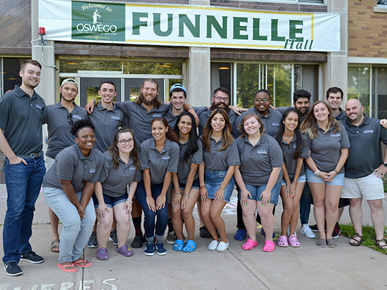 Funnelle Hall Staff