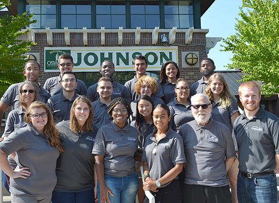 2017 - 2018 Johnson Hall staff welcome you!