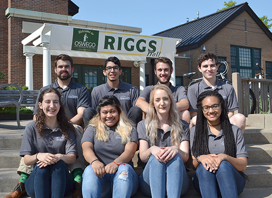 Riggs Hall staff welcomes you!