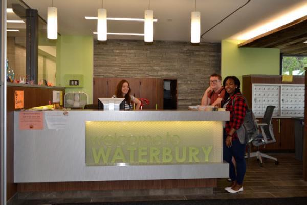 Welcome to Waterbury Hall.