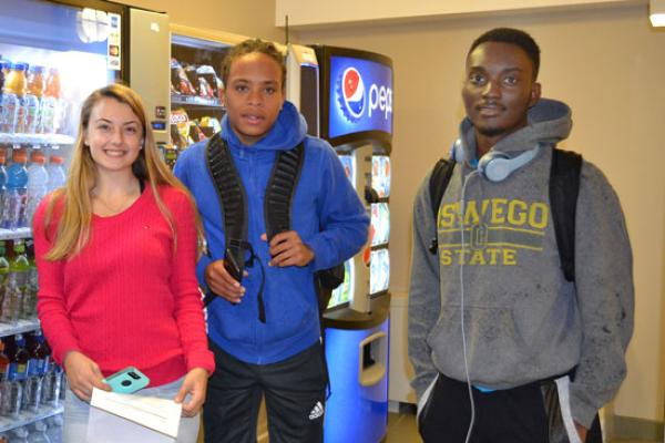 Residents of Johnson Hall have access to several vending machines for snacks and drinks 24 hours a day.