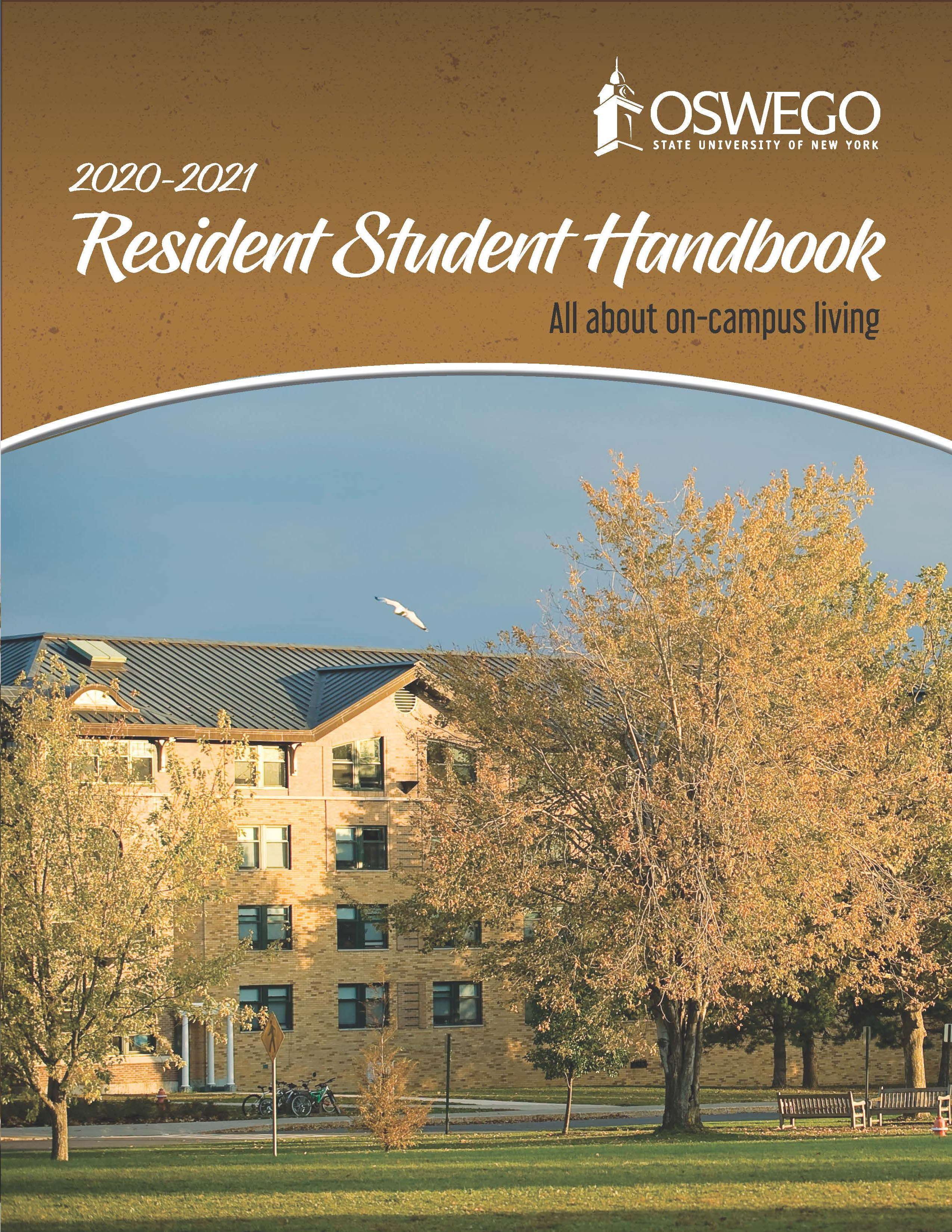 Residence Life Handbook Cover