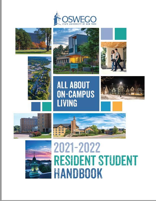 Resident Student Handbook Cover