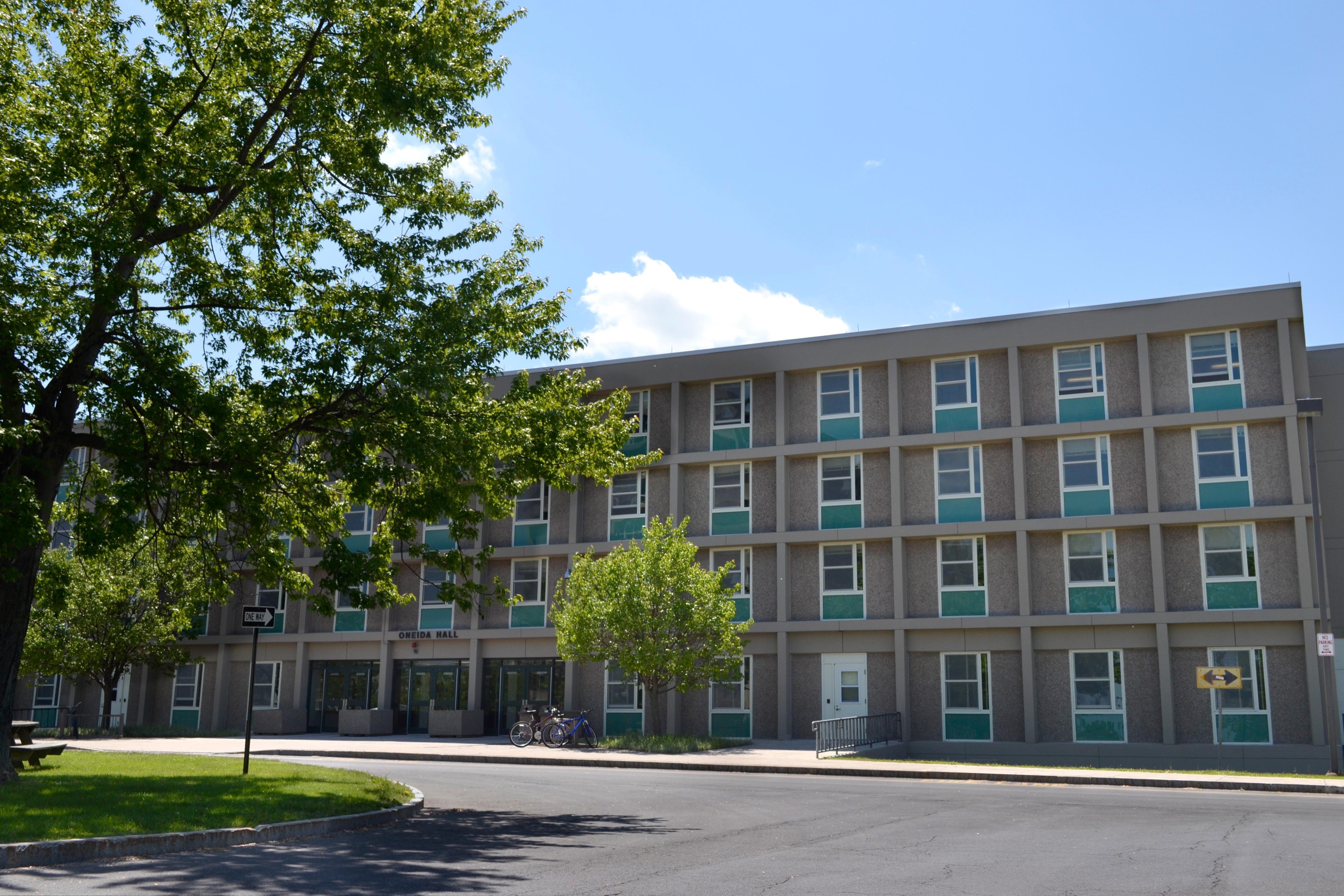 Oneida Hall on a summer day
