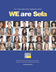 Picture of the 2017-2018 SEFA Brochure