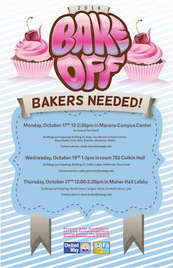 Bakers Needed 2016