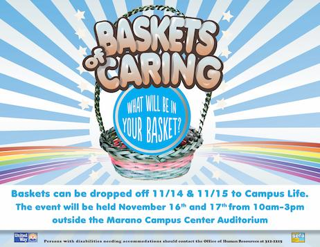 SEFA Baskets of Caring 2016 - Your Ideas for Baskets Needed