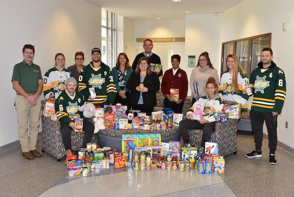 Food and Toy Drive Photo
