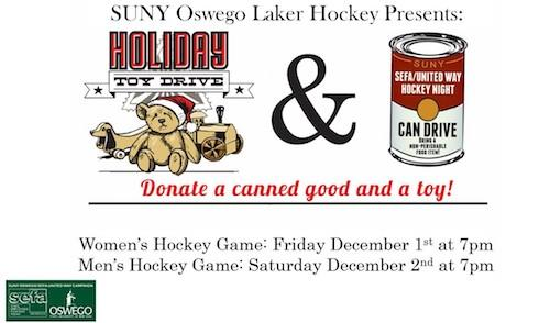 Holiday Toy Drive and Canned Goods Drive