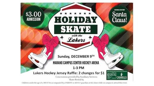 Holiday Skate with the Lakers - Sun. Dec. 9th