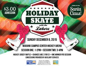 Skate with the Lakers 2015 Flyer