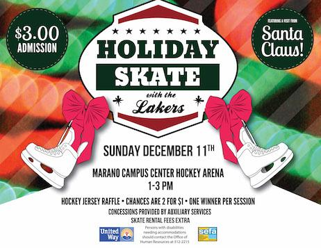 SEFA Holiday Skate with the Lakers 2016 - Sunday, December 11th