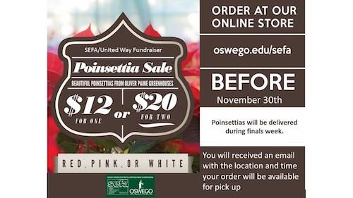 SEFA Poinsettia Sale 2018 - Order by Fri. Nov. 30th!