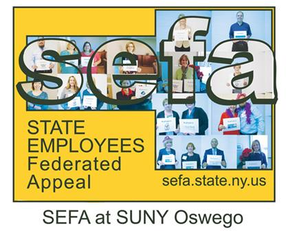 SUNY Oswego SEFA Logo 2015