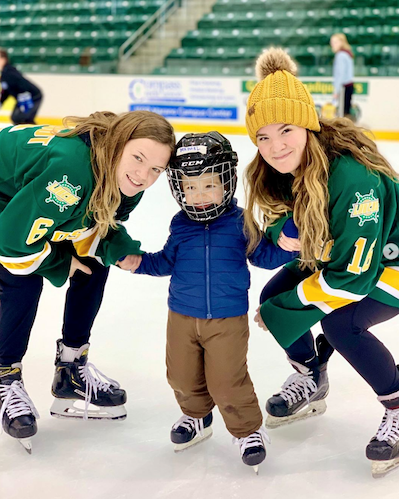 Skate with the Lakers Event 2019