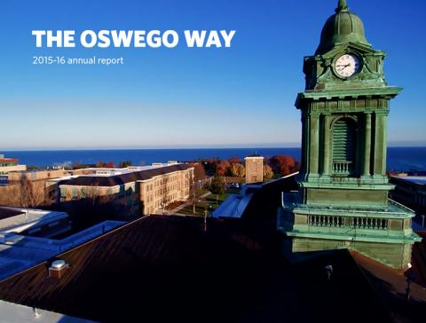 The Oswego Way 2015-16 annual report