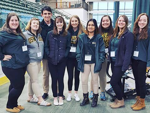 Oswego tour guides ready to help visitors
