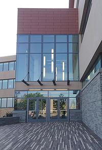 Shineman Center entrance
