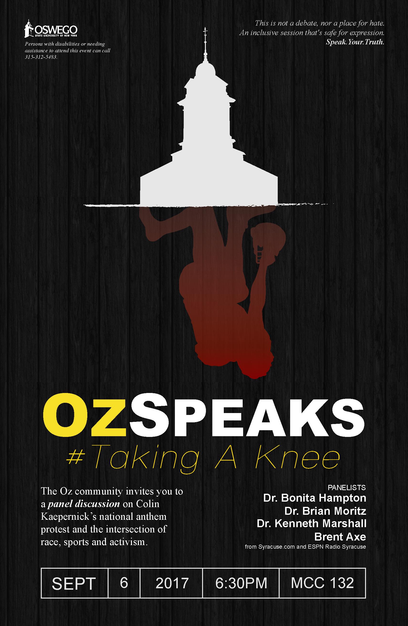 OzSpeaks - Taking A Knee