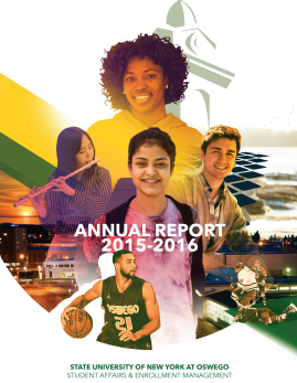 Cover of the 2015-16 Annual Report