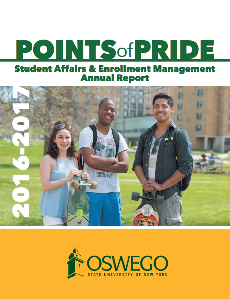 Cover of Points of Pride annual report